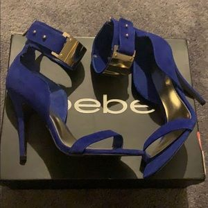 Bebe heels size 8 new